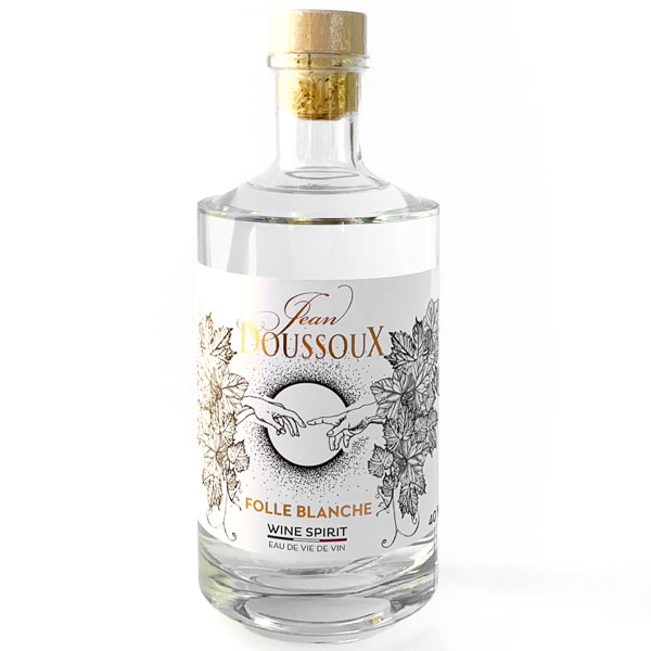 Jean Doussoux Folle Blanche Wine Spirit (40%)