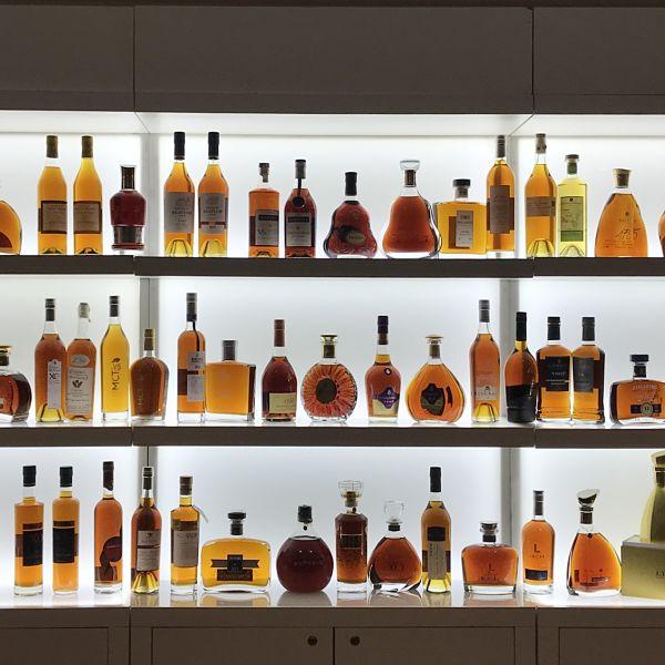 La diversité des cognacs en dégustation
