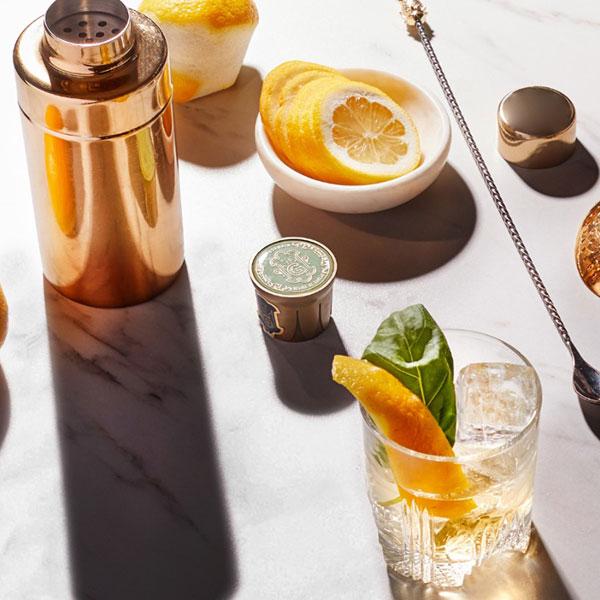 Le bar à cocktails Speakeasy Cariatides par Grey Goose et St-Germain
