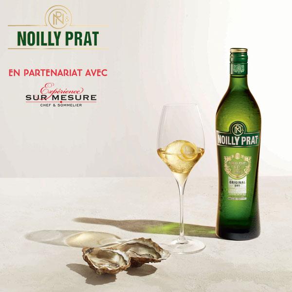 Accords vermouth Noilly Prat & bouchées gastronomiques